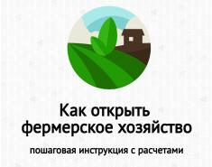 Как открыть фермерское хозяйство (КФХ) с нуля: пошаговая инструкция