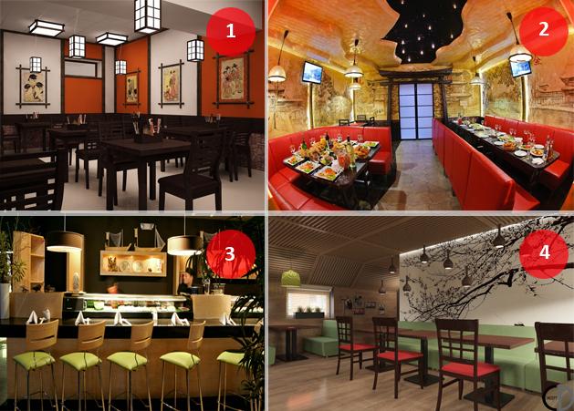 Как открыть суши-бар с нуля: дизайн места