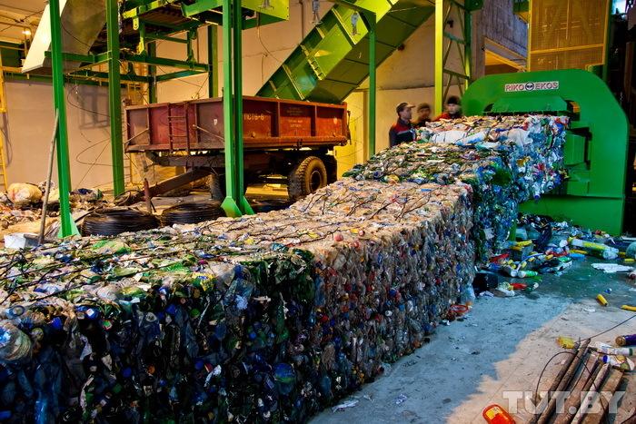 Процесс переработки отходов
