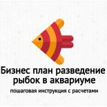 Бизнес план разведение рыбок (гуппи) в аквариуме