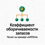 Коэффициент оборачиваемости запасов (Inventory turnover). Расчет на примере ОАО «АЛРОСА»