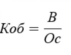 Коэффициент закрепления оборотных средств. Формула по балансу. Нормативное значение