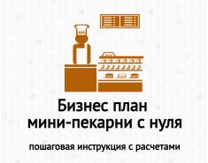 Бизнес-план мини-пекарни с нуля и пошаговыми расчетами