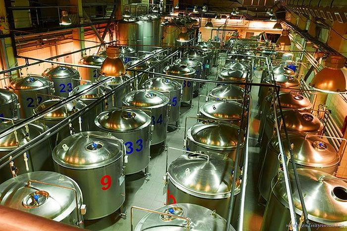 Цех по производству пива