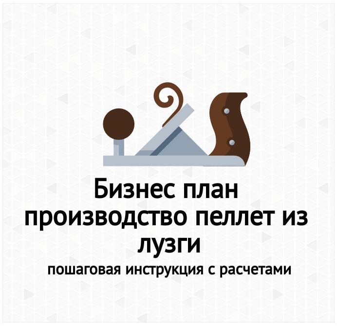 Бизнес-план производство пеллет из лузги