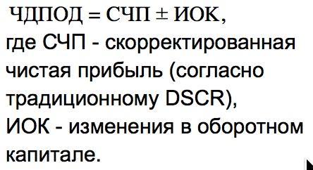 Коэффициент покрытия долга формула по балансу. Нормативное значение