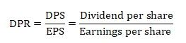 Коэффициент дивидендных выплат. Формула. Норматив