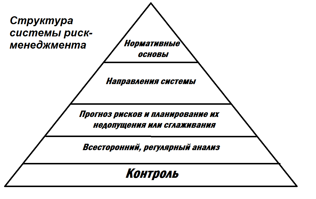 Структура системы риск-менеджмента