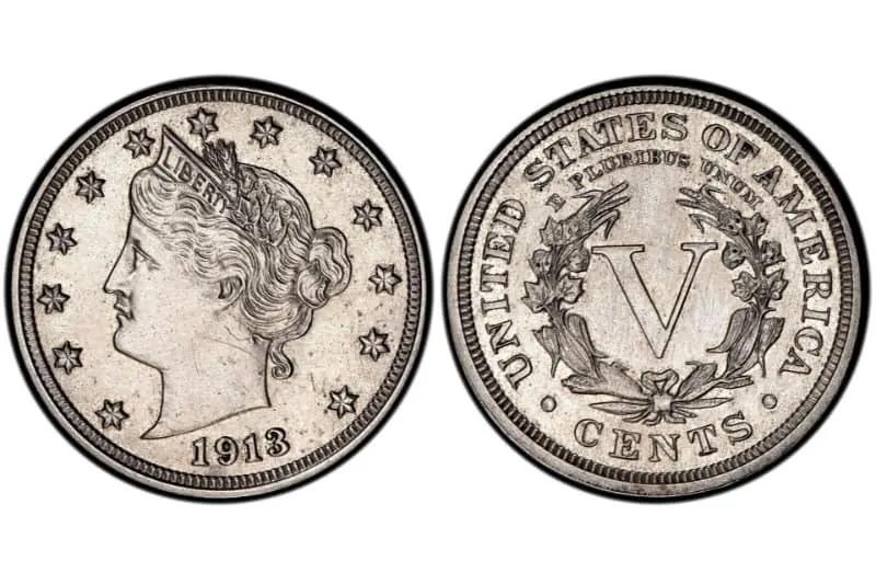 Liberty-Head-Nickel-1913-Hawai-Five-O-Star