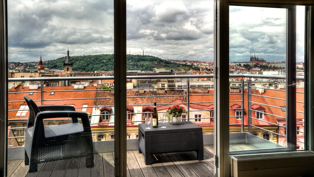 Прага – туристический город, где всегда есть спрос на жилье